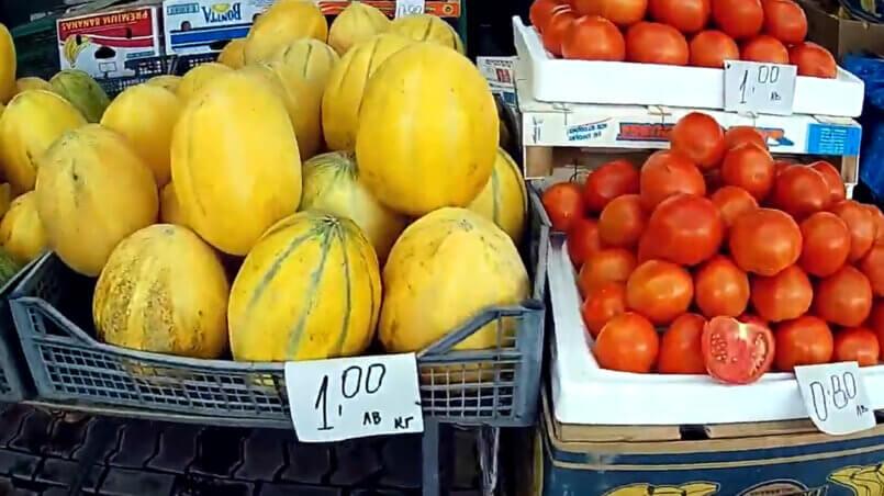 Цены на питание в Солнечном Береге в Болгарии