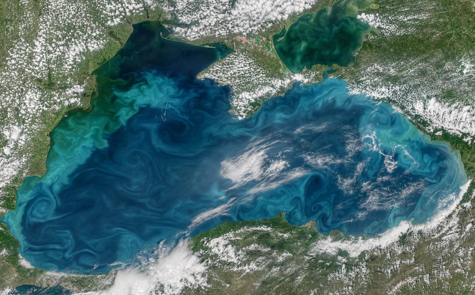 Черноморские течения. Тягун.