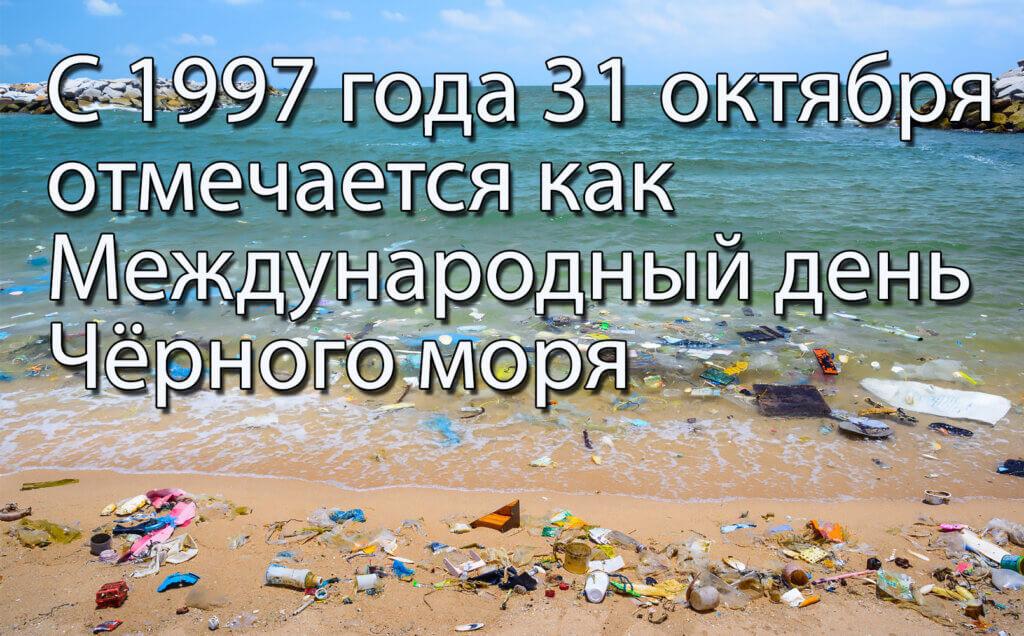 Чёрное море экология