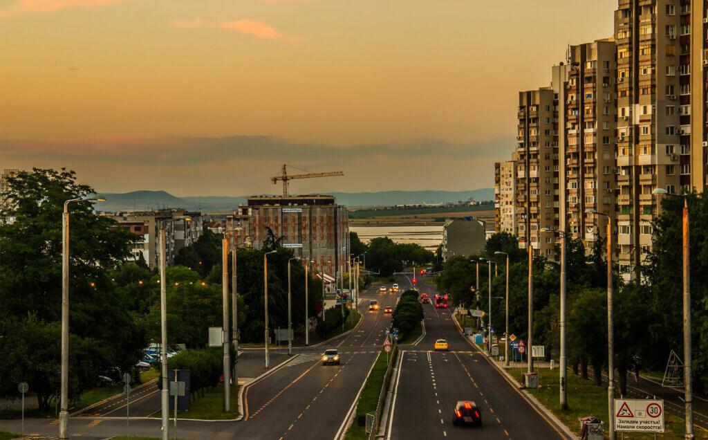 Бурга́с город в Болгарии